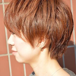 ストリート ブラウン 前髪あり 外国人風 ヘアスタイルや髪型の写真・画像