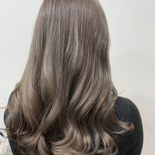 ハイトーンカラー イルミナカラー ナチュラル ハイトーン ヘアスタイルや髪型の写真・画像