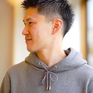 ショート メンズ メンズヘア メンズショート ヘアスタイルや髪型の写真・画像 | 鈴木崚麻 / BEAUTRIUM鎌倉小町