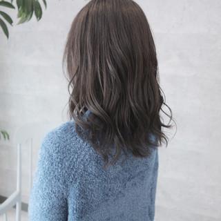 オフィス 暗髪 デート 上品 ヘアスタイルや髪型の写真・画像