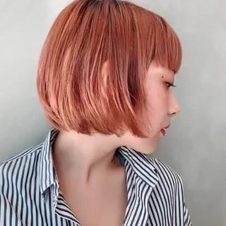 阿藤俊也 ボブ PEEK-A-BOO 似合わせカット ヘアスタイルや髪型の写真・画像