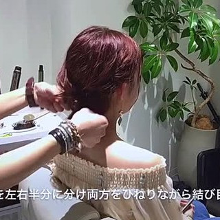デート ヘアアレンジ フェミニン  ヘアスタイルや髪型の写真・画像