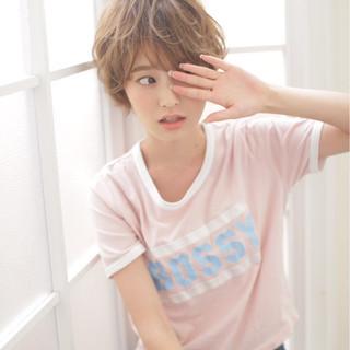 子供 ストレート ボブ フェミニン ヘアスタイルや髪型の写真・画像