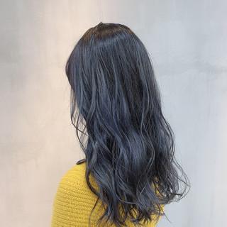 透明感カラー セミロング グレージュ 外国人風カラー ヘアスタイルや髪型の写真・画像