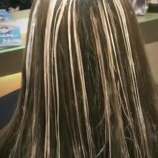 ウェーブ ナチュラル ロング 外国人風 ヘアスタイルや髪型の写真・画像