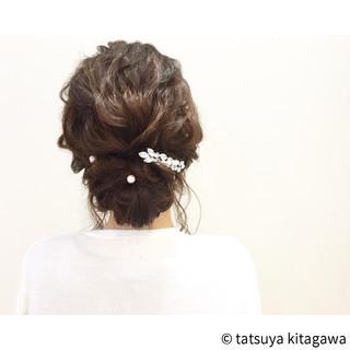 花嫁 アッシュ 結婚式 ヘアアレンジ ヘアスタイルや髪型の写真・画像