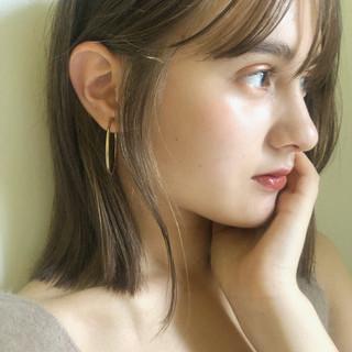 ガーリー オフィス 大人かわいい デート ヘアスタイルや髪型の写真・画像