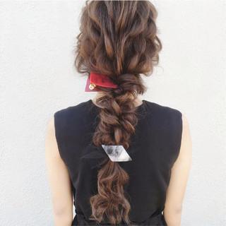 ナチュラル ヘアアレンジ ロング 大人かわいい ヘアスタイルや髪型の写真・画像