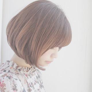 色気 ミルクティー 大人女子 ボブ ヘアスタイルや髪型の写真・画像