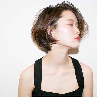 ハイライト 外国人風 大人かわいい ショート ヘアスタイルや髪型の写真・画像