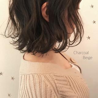 ハイライト ナチュラル ゆるふわ アンニュイ ヘアスタイルや髪型の写真・画像