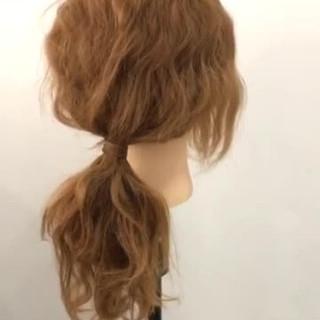 セミロング ショート ヘアアレンジ 簡単ヘアアレンジ ヘアスタイルや髪型の写真・画像
