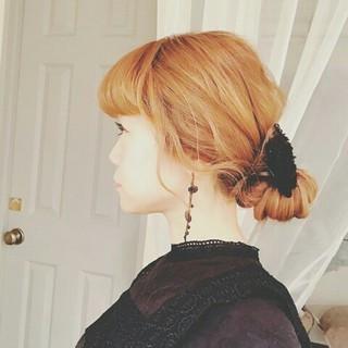 冬 大人かわいい ロング ゆるふわ ヘアスタイルや髪型の写真・画像