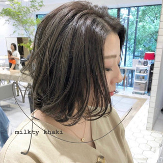 切りっぱなしボブ ミニボブ ナチュラル ベリーショート ヘアスタイルや髪型の写真・画像