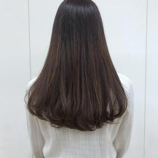ロングヘア 360度どこからみても綺麗なロングヘア ストレート ロング ヘアスタイルや髪型の写真・画像