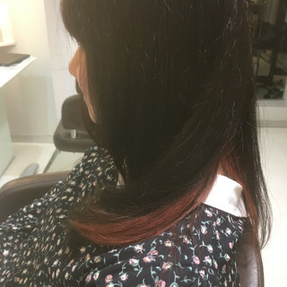 フェミニン ロング ライブ 大学生 ヘアスタイルや髪型の写真・画像