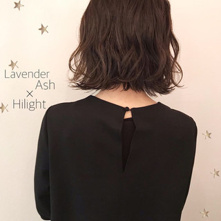 アンニュイほつれヘア 切りっぱなし ミディアム ストリート ヘアスタイルや髪型の写真・画像