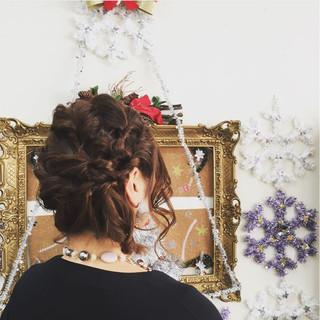 ミディアム ニュアンス 大人女子 ヘアアレンジ ヘアスタイルや髪型の写真・画像