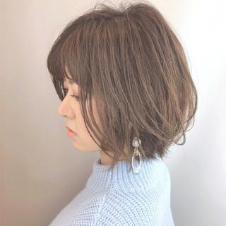 小顔 大人グラボブ コンサバ 美シルエット ヘアスタイルや髪型の写真・画像 ヘアスタイルや髪型の写真・画像