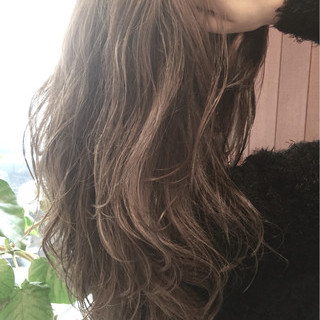外国人風 ロング パーマ ブラウン ヘアスタイルや髪型の写真・画像 ヘアスタイルや髪型の写真・画像