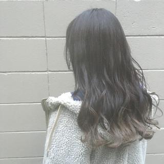 外国人風カラー ストリート ロング 圧倒的透明感 ヘアスタイルや髪型の写真・画像