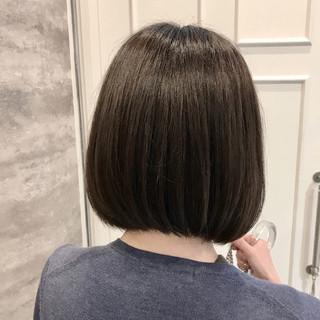 イルミナカラー ショート 外国人風 デート ヘアスタイルや髪型の写真・画像