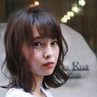外国人風 ボブ ブルージュ ピュア ヘアスタイルや髪型の写真・画像