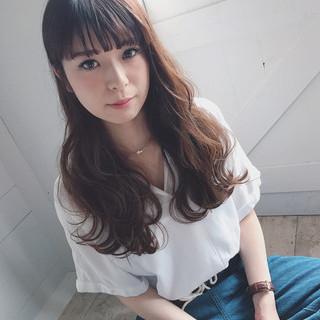 女子会 秋 透明感 リラックス ヘアスタイルや髪型の写真・画像