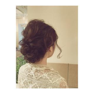ヘアアレンジ ショート ロング 結婚式 ヘアスタイルや髪型の写真・画像