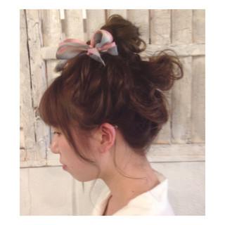 外国人風 ナチュラル ヘアアレンジ ロング ヘアスタイルや髪型の写真・画像