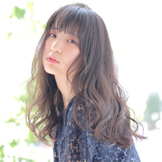 艶髪 ナチュラル ロング 透明感 ヘアスタイルや髪型の写真・画像