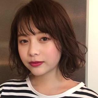 ミディアム 色気 大人女子 フェミニン ヘアスタイルや髪型の写真・画像