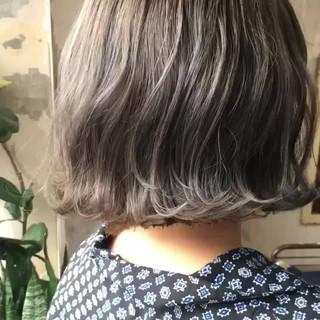 オルチャン ボブ 韓国ヘア ヘアアレンジ ヘアスタイルや髪型の写真・画像