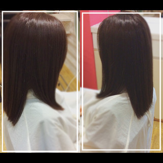 ロング 大人ヘアスタイル 髪質改善カラー 社会人の味方 ヘアスタイルや髪型の写真・画像