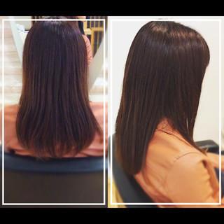 社会人の味方 髪質改善カラー ナチュラル 髪質改善トリートメント ヘアスタイルや髪型の写真・画像 ヘアスタイルや髪型の写真・画像
