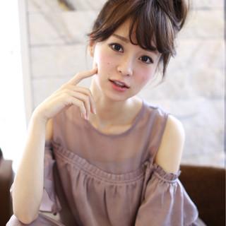 色気 ヘアアレンジ フェミニン ロング ヘアスタイルや髪型の写真・画像