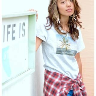 ストリート ガーリー モテ髪 フェミニン ヘアスタイルや髪型の写真・画像