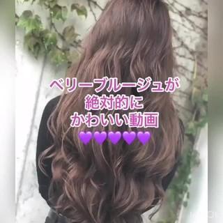 ウェーブ デート 女子力 簡単ヘアアレンジ ヘアスタイルや髪型の写真・画像 ヘアスタイルや髪型の写真・画像