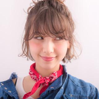 大人かわいい 外国人風 ヘアアレンジ ハーフアップ ヘアスタイルや髪型の写真・画像
