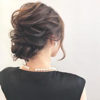 セミロング デート オフィス 結婚式 ヘアスタイルや髪型の写真・画像 ヘアスタイルや髪型の写真・画像