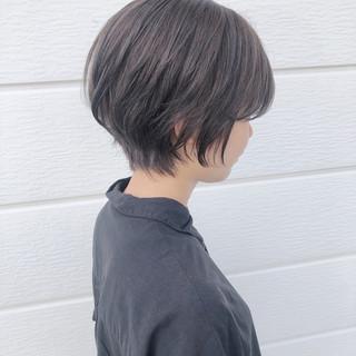 ヘアアレンジ グレージュ ヘアカラー ヘアスタイル ヘアスタイルや髪型の写真・画像