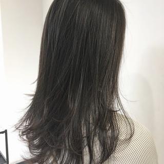ロング レイヤーロングヘア レイヤーカット デート ヘアスタイルや髪型の写真・画像