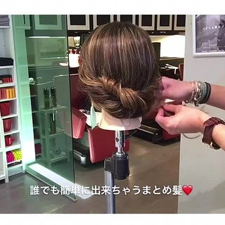ヘアアレンジ フェミニン デート 女子会 ヘアスタイルや髪型の写真・画像