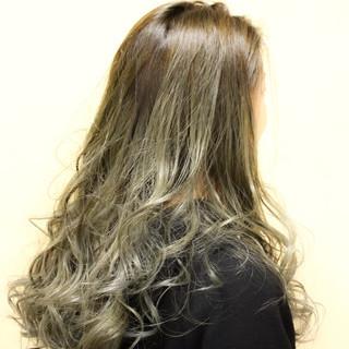 外国人風カラー ハイライト 外国人風 ストリート ヘアスタイルや髪型の写真・画像
