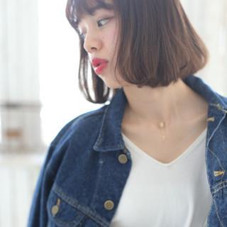 ショートボブ 銀座美容室 ショートヘア 大人可愛い ヘアスタイルや髪型の写真・画像