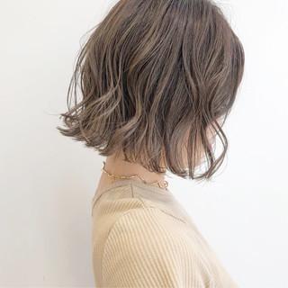 ナチュラル ミニボブ ショートボブ 切りっぱなしボブ ヘアスタイルや髪型の写真・画像