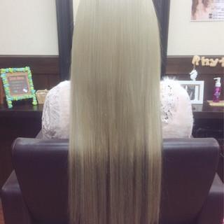 ロング くすみカラー 外国人風 ハイライト ヘアスタイルや髪型の写真・画像