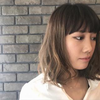 夏 ナチュラル 3Dカラー グラデーションカラー ヘアスタイルや髪型の写真・画像 ヘアスタイルや髪型の写真・画像