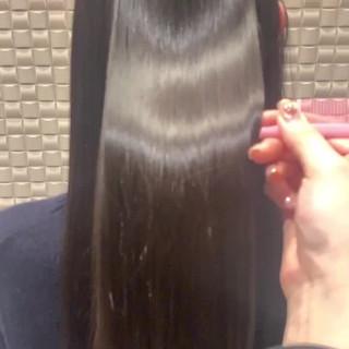 ナチュラル 最新トリートメント 髪質改善トリートメント トリートメント ヘアスタイルや髪型の写真・画像