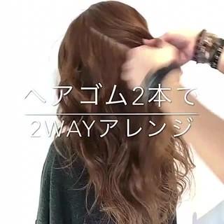 フェミニン ショート オフィス 簡単ヘアアレンジ ヘアスタイルや髪型の写真・画像
